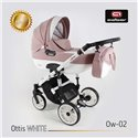 Детская коляска 2 в 1 Adbor Ottis White Ow-02