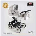 Детская коляска 2 в 1 Adbor Ottis White Ow-03