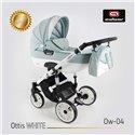 Детская коляска 2 в 1 Adbor Ottis White Ow-04