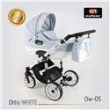 Детская коляска 2 в 1 Adbor Ottis White Ow-05