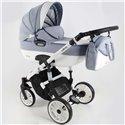Детская коляска 2 в 1 Adbor Ottis White Ow-06