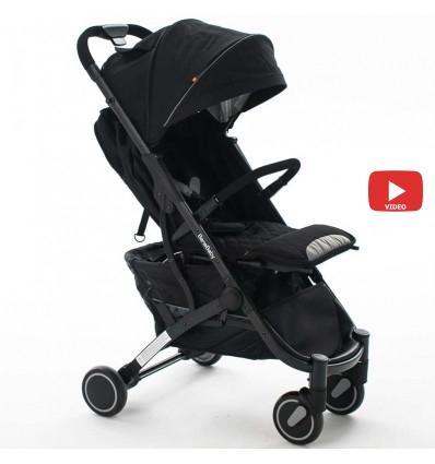 Детская прогулочная коляска BeneBaby D200 черная