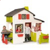 Дитячий будиночок з горищем Friends House Floralie Smoby 310209