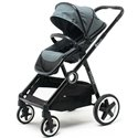 Детская прогулочная коляска (опция: коляска для двойни) BabyZz Dynasty серая