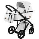 Детская коляска 2 в 1 Adamex Riccio Y208 - 100% эко кожа