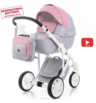 Детская коляска 2 в 1 Bebe-Mobile Marconi BE61