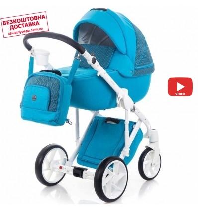 Детская коляска 2 в 1 Bebe-Mobile Marconi BE66