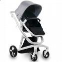 Детская коляска 2 в 1 ibebe i-stop серая