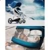 Детская коляска 2 в 1 ibebe i-stop черная