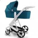 Детская коляска 2 в 1 ibebe i-stop бирюзовая
