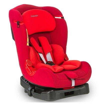 Автокресло детское Mioobaby Dual Safe Red, 0-25 кг