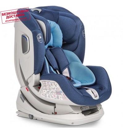 Автокресло детское Mioobaby S Jet Pro Isofix Blue, 0-25 кг