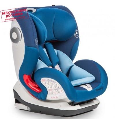 Автокресло детское Mioobaby PrimeFix Pro Isofix Blue, 9-36 кг
