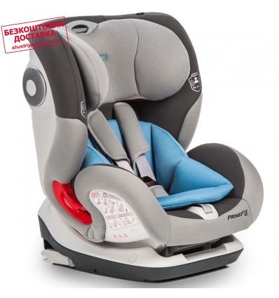 Автокресло детское Mioobaby PrimeFix Pro Isofix Grey, 9-36 кг