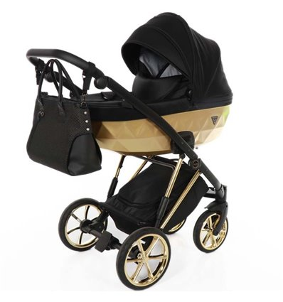 Детская коляска 2 в 1 Tako Junama Diamond V-Plus 03 Gold
