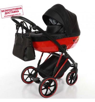 Детская коляска 2 в 1 Tako Junama Diamond V-Plus 04 Red