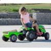 Трактор педальный с прицепом FARMER XL Smoby 710111