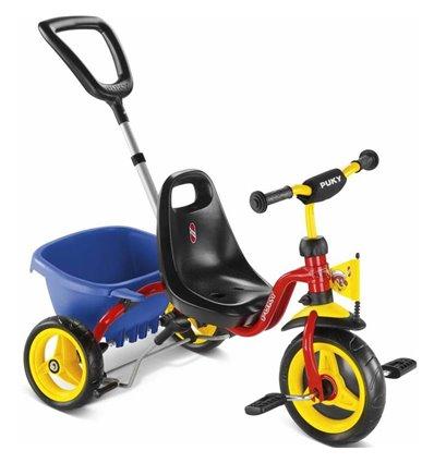 Трехколесный велосипед Puky CAT 1S красный