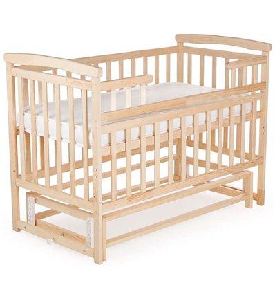 Кроватка Дитячий сон с маятником, цвет натуральный