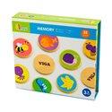 """Настільна гра Viga Toys """"Memory"""" 32 картки (50126)"""