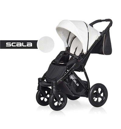 Детская прогулочная коляска Riko Scala 01 White
