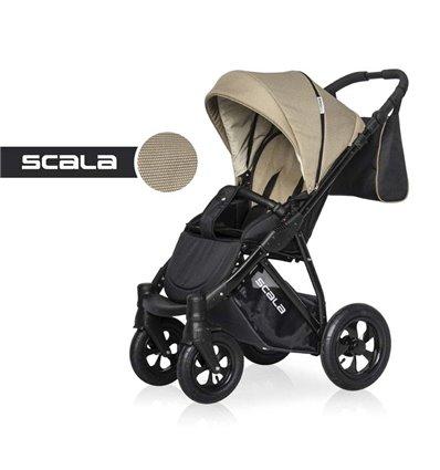 Детская прогулочная коляска Riko Scala 02 Beige
