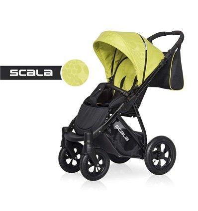 Детская прогулочная коляска Riko Scala 06 Green