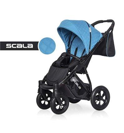 Детская прогулочная коляска Riko Scala 08 Blue