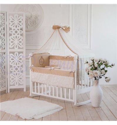 Детский постельный комплект Маленькая Соня Family Kingdom кофейный