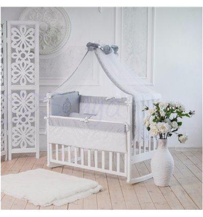 Детский постельный комплект Маленькая Соня Family Kingdom серый