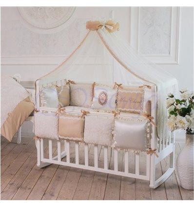 Детский постельный комплект Маленькая Соня Mon cheri кофейный