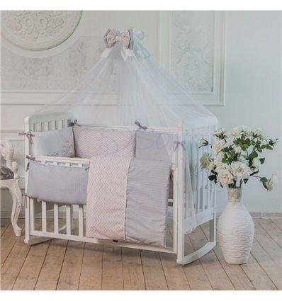 Детский постельный комплект Маленькая Соня Mi-mi розовый