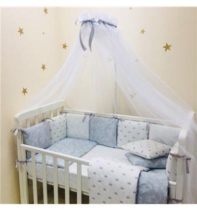 Детский постельный комплект Маленькая Соня Baby Design Премиум Короны