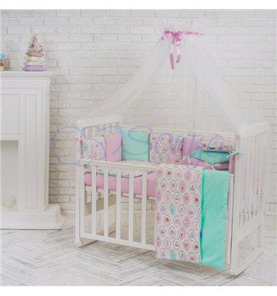 Детский постельный комплект Маленькая Соня Baby Design Пирожные