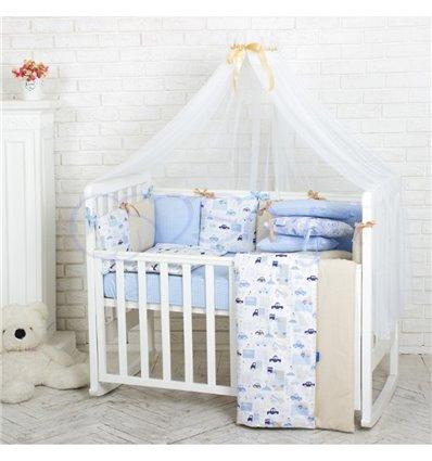 Детский постельный комплект Маленькая Соня Baby Design Премиум City