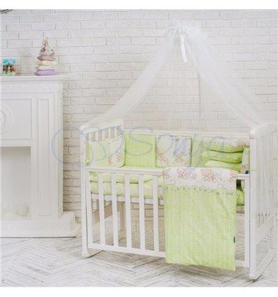 Детский постельный комплект Маленькая Соня Baby Design Малыши в шапочках