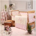 Детский постельный комплект Маленькая Соня Aнгел розовый 6 предметов (без балдахина)