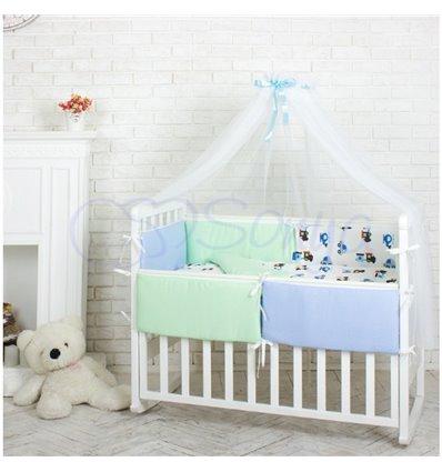 Детский постельный комплект Маленькая Соня Comfort Автопарк