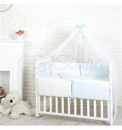 Детский постельный комплект Маленькая Соня Comfort Мечта голубой