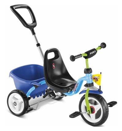 Трехколесный велосипед Puky CAT 1S синий