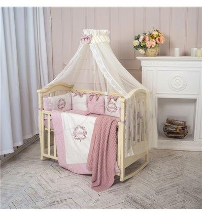 Детский постельный комплект Маленькая Соня Elegance пыльная роза