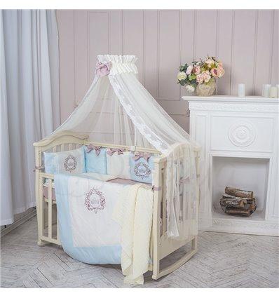 Детский постельный комплект Маленькая Соня Elegance голубой