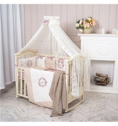 Детский постельный комплект Маленькая Соня Elegance бежевый