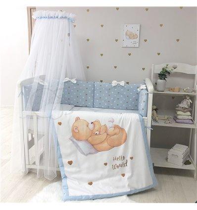 Детский постельный комплект Маленькая Соня Happy Baby мальчик