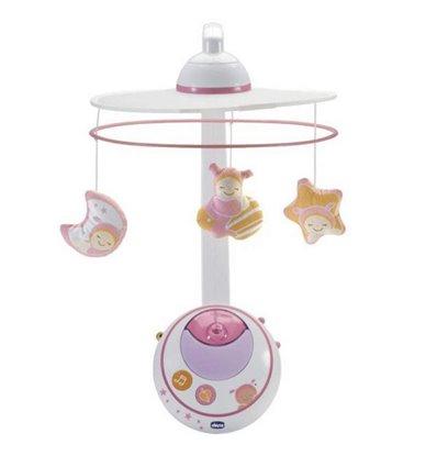 Мобиль на кроватку Chicco Волшебные звёзды розовый