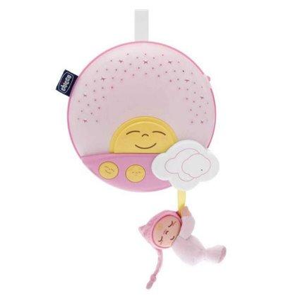 Мобиль-проектор на кроватку Chicco Закат солнца Розовый 06992.10