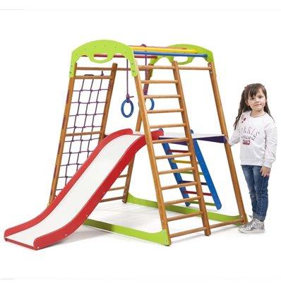 Детский спортивный комплекс для дома SportBaby BabyWood Plus 2