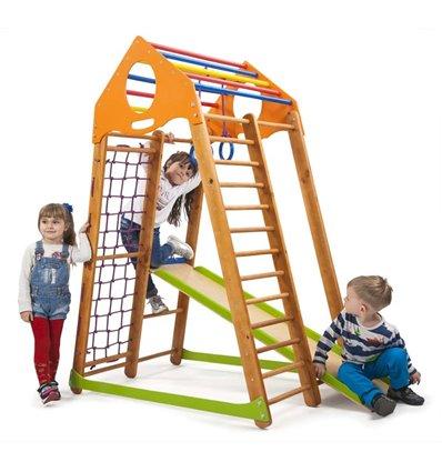 Детский спортивный комплекс для дома SportBaby BambinoWood