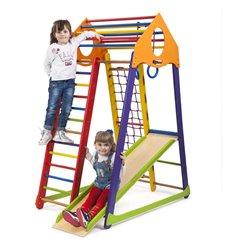 Детский спортивный комплекс для дома SportBaby BambinoWood Color
