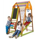 Детский спортивный комплекс для дома SportBaby BambinoWood Plus